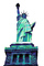 Statue Of Liberty, 1940's, photo-object, object, cut-out, cutout, CNYPCD1187_085BF