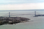 Brooklyn, Verrazano Narrows Bridge, Interstate Highway I-278, Suspension Bridge, CNYV01P09_14