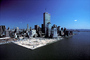 Docks, Piers, buildings, downtown Manhattan, skyscrapers, cityscape, CNYV02P03_02