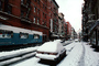 Little Italy, winter, wintertime