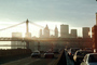 Manhattan-Bridge, East-River, Cars, automobile, vehicles