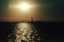 Statue Of Liberty, sun, glow, reflections, sheen