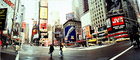 Times Square, Panorama, Buildings, cityscape, cars, winter, wintertime, CNYV05P08_02