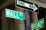 Wall Street, one way, downtown Manhattan, CNYV05P09_01