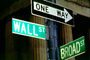 Wall Street, one way, downtown Manhattan, CNYV05P09_01B