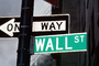 Wall Street, one way, downtown Manhattan, CNYV05P09_03