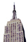 Empire State Building, New York City, photo-object, object, cut-out, cutout, CNYV05P10_14F