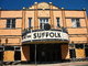 Suffolk, art deco building, landmark, Riverhead, Long Island