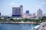 Skyline, Buildings, Waterfront, COFV03P10_04