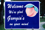 Welcome, We're glad Georgia's on your mind