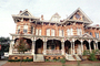Mansion, Homes, Building, Ornate, Porch, Savannah, opulant