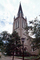 St John's Episcopal Church, Building, Tower, Steeple, Madison Square, Savannah, COGV02P01_01