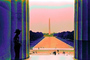 The Mall, Reflecting Pool, art, artform, park police, CONPCD3348_012B