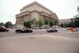 Archives of the United States of America, columns, landmark building, cars, street