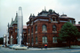 Smithsonian Missile and Rocket Display, cars, castle, building, landmark, 1970's, CONV05P11_13