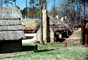 cabin, homes, houses, chimney, Thatched Roof House, Home, grass roof, building, Sod