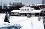 Home, House, Driveway, Cars, Roanoke, Winter, automobile, vehicles, 1970's