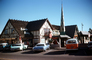 Solvang, Car, Automobile, Vehicle, December 1975