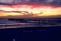 Pacific Ocean, Pier, Waves, Sunset, Sunclipse, Oceanside, CSDV01P11_12