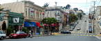 Noe and 24th street, Noe Valley, Panorama