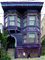 Purple home, house, building, domestic, domicile, residency, Diamond Heights