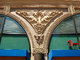 lion, ornate, decoration, triangle, triangular, bar-relief, building, detail, opulant, June 2005, CSFD03_095