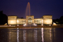 Palace of Legion of Honor, Water Fountain, aquatics, Twilight, Dusk, Dawn, CSFD06_272