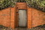 Tunnel Entrance, Bunker, Ivy, Brick, The Presidio