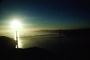 Early Morning, sunrise, Golden Gate Bridge, CSFV01P06_06