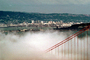 Golden Gate Bridge, old Bay Bridge, Oakland Skyline, CSFV01P15_12