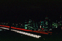 San Francisco Oakland Bay Bridge, Night, Nightime, Exterior, Outdoors, Outside, Nighttime