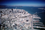 The Embarcadero, Cityscape, Skyline, Buildings, SOMA, Piers, Downtown, August 26 1981, 1980's