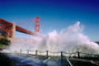 Golden Gate Bridge Splash, Fort Point, CSFV05P07_02.1742