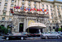 Fairmont Hotel, Nob Hill, building, detail, Cars, automobiles, vehicles
