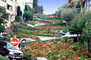 Flowers, Garden, Hairpin Turns, Switchback, S-curve, curviest, homes, houses, buildings, CSFV16P15_07