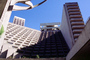Hyatt Regency, Embarcadero Center, Hyatt, Hotel, Building, detail, CSFV17P14_08
