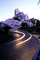 Brick roadway, Garden, Hairpin Turn, Switchback, S-curve, curviest, homes, houses, buildings, CSFV20P10_07
