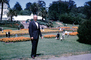 Bob Gardner, man, male, garden, trees, Conservatory Of Flowers, May 1963, 1960's