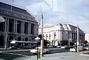 Opera Plaza, Grove and Van Ness Street, buildings, cars, Van Ness Street, automobile, vehicles, May 1963, 1960's