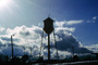 Water Tower, Clouds, CSMV01P07_02