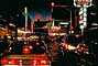 Casino, Night, Nighttime, Neon Lights, Cars, vehicles, Automobile