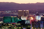 The Strip, Twilight, Dusk, Dawn, Cityscape, Skyline, buildings, casinos, hotels, CSNV03P12_19