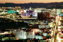The Strip, Twilight, Dusk, Dawn, Cityscape, Skyline, buildings, casinos, hotels, CSNV03P13_04