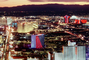 The Strip, Twilight, Dusk, Dawn, Cityscape, Skyline, buildings, casinos, hotels, neon signs, CSNV03P13_09