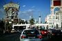 Treasure Island, Hotel, Casino, the Stratosphere Tower, Buildings, Cars, vehicles, Automobile, CSNV05P07_10