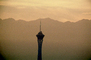 The Stratosphere, hotel, casino, building, tower, Sunset, CSNV05P12_11