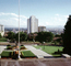 Buildings, garden at the State Capitol, Salt Lake City, July 1972, CSUV02P03_02