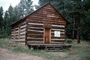 Old Strawberry School, log cabin, Schoolhouse, Elementary School, One Room Building, CSZV03P15_05