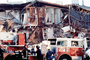 Fillmore Street, Marina district, Loma Prieta Earthquake (1989), 1980's, Fire Truck, DAEV02P06_08