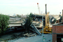 Pancake Collapse, Grove Telescoping Crane, Cypress Freeway, Loma Prieta Earthquake (1989), 1980's, DAEV02P12_17